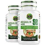 Detox Adelganzante - Detox Aloe Vera | Regulix Aloe -Aquisana | Detox Depurativo, Diurético y Laxante Natural Ayuda a Eliminar Toxinas y Favorece Nuestro Sistema Digestivo | 180 Cápsulas