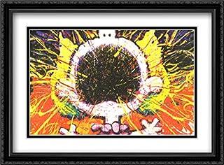 Big Loud Screaming Blonde 2X Matted 40x28 Large Black Ornate Framed Art Print by Tom Everhart