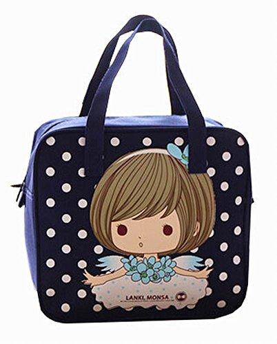 [fille de rêve] enfants sac de pique-nique sac fourre-tout réutilisable