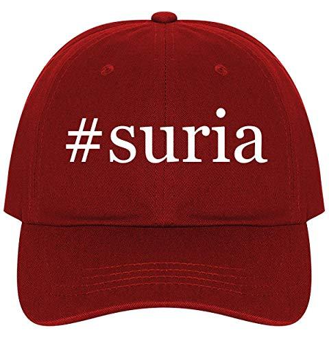 #Suria - A Nice Comfortable Adjustable Hashtag Dad Hat Cap, Red