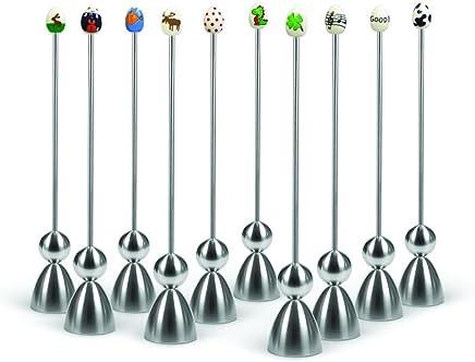 Preisvergleich für Take2 Clack 1 Stück Eierschalensollbruchstellenverursacher, Eierköpfer, sortierter Artikel, Motiv: Keramik Edition 2