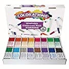 Colorations Washable Classic Markers Classroom Pack - Set of 256 (Item # 982561), Assorted Set