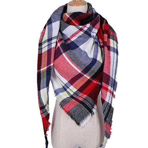 StAuoPK dames herfst en winter driehoek sjaal, kasjmier sjaal warme sjaal