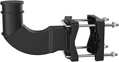 ANTOP 180 Degree Adjustable Universal Mounting Bracket Supports Multiple Mounting Options and is Ideal for Indoor or Outdoor TV Antenna.