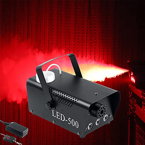Smoke Machine Fog Machine With Lights 470000 Color Mixing Effect LED Lights, 1 Wireless Remote Controls for DJ lights…