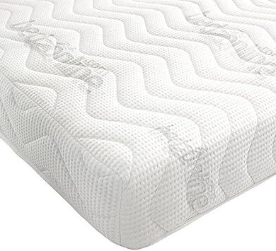 Ikea Materasso In Memory Foam 200 X 120 Cm Amazon It Casa E Cucina