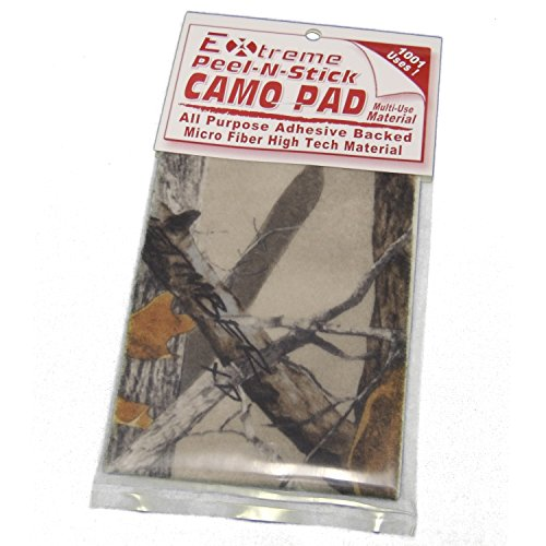 Sight Window Pad - TRUTIMBER XD3 CAMO By Cir-Cut Archery Super Quite Adhesive Bow Silencing Material