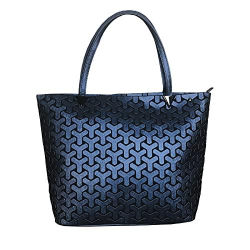QIANJINGCQ nueva bolsa de cubo geométrica de seda de moda de un hombro mensajero dama romboide todo-fósforo bolso de moda mochila