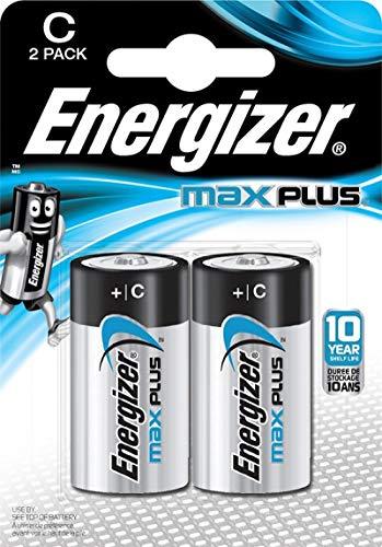 Energizer E301324200 Max Plus Baby (C) 2 Stück Chrom