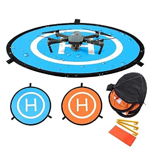 1 Unidades Drone Landing Pad Plegable UAV Universal Delantal Mavic Pro Accesorios para RC Drones Helicóptero Plegable Landing pad