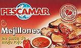 Pescamar Mejillones En Salsa De Mojo Rojo En Lata 111 G 111 g