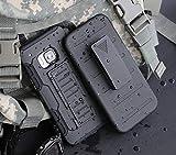 Cocomii Robot Belt Clip Holster HTC 10 Case, Slim Thin Matte Kickstand Swivel Belt Clip Holster Reinforced Drop Protection Fashion Phone Case Bumper Cover Compatible with HTC 10 (Black)