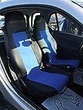 RMG R01V214 coprisedili compatibili per MOKKA fodere auto R01 neri grigi per sedili con airbag braciolo e sedili sdoppiabili