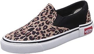 Zomer Skateschoenen New Leopard Print pedaal canvas schoenen damesschoenen slippers platte schoenen casual trend sneakers