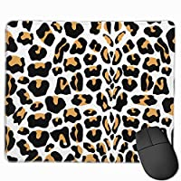"""Leopard Seamless Pattern Animal Print Vector Mouse Pad Non-Slip Rubber Gaming Mouse Pad Rectangle Mouse Pads for Computers Desktops Laptop 9.8"""" x 11.8"""""""