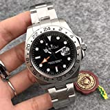 PLKNVT Luxusmarke Neue Männer Automatische Mechanische Uhr Schwarz Weiß Edelstahl Sapphire Diver...