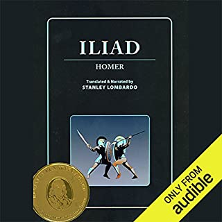 Iliad audiobook cover art