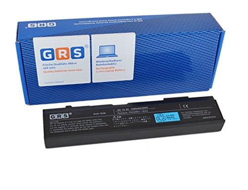 GRS Batterie pour Toshiba Satellite M40, M50, A100, A80, Dynabook CX, TX, VX, M115, Tecra A3, A4, A5, A6, A7, S2, remplacé: PA3399U-1BAS, PA3399U-1BRS, PA3399U-2, Laptop Batterie 4400mAh, 10.8V