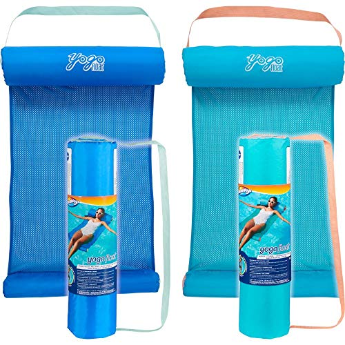 SwimWays Yogo Float, schwimmende Hängematte, farblich sortiert