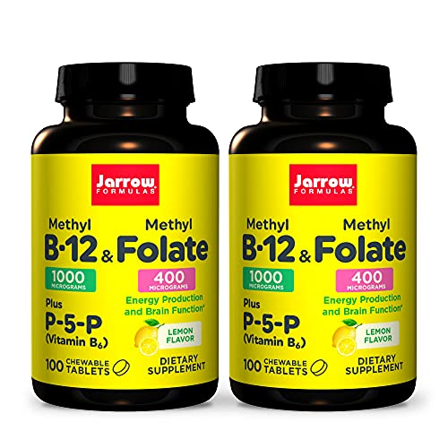 Jarrow Formulas Methyl B-12 & Methyl Folate - 100...