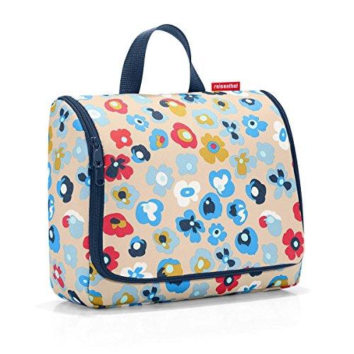 reisenthel toiletbag XL millefleurs Maße: 28 x 25 x 10 cm / Maße: 28 x 59 x 9 cm expanded /...