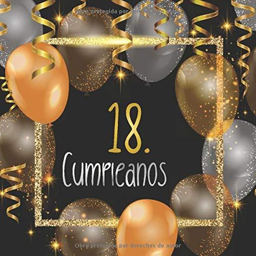 18. cumpleaños: Libro de invitados 18. cumpleaños - El recuerdo de tu 18. cumpleaños