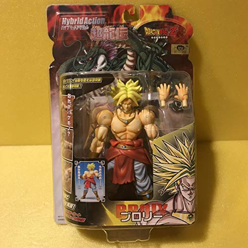 Dragonball Z BanDai Hybrid Action Mega Articulated 4 Inch Action Figure Broly image