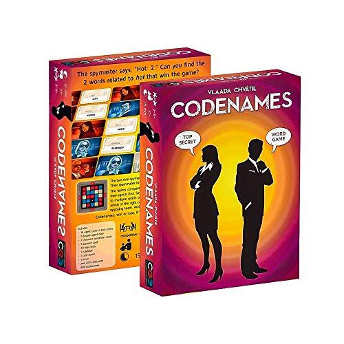 AIU Codenames, Brettspiel Codenames Spiel des Jahres 2016 Codenames Board Game (Englisch Version)