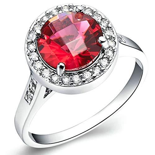 KnSam Ring Herren Mit Gravur Verlobungsringe Für Damen Kupfer Versilber Runden Silber Ring Valentinstag Gedenkenstag Geschenk