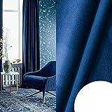 GHJYU Cortina opaca de terciopelo de alto sombreado para dormitorio, sala de estar, aislante, cortina de ventanas de estilo moderno, decoración del hogar, hecha a medida, 2018-36, 400 x 270 cm