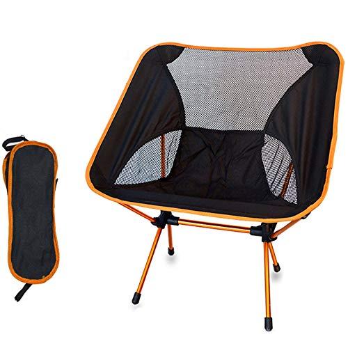 snmi Silla De Camping Plegable Portátil Ultraligera con Mochila, Transpirable, Cómoda, Aire Libre, Camping, Senderismo, Picnic