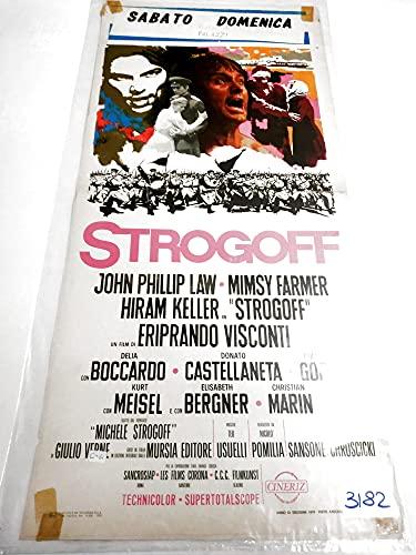 Locandina - Michele Strogoff, mensajero del Zar, Eriprando Visconti