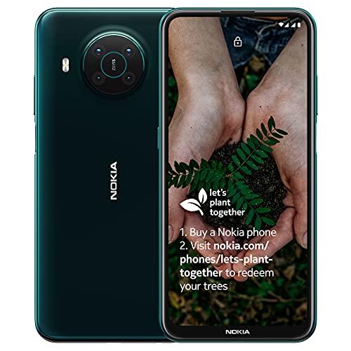 Nokia X10 - Smartphone 64GB, 6GB RAM, Dual SIM, Forest Green