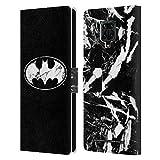 Head Case Designs sous Licence Officielle Batman DC Comics Marbre Logos Coque en Cuir à...