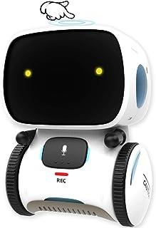 GILOBABY Robot inteligente para niños, función táctil con función de reconocimiento de voz, robot electrónico con baile y ...