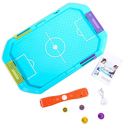 Amazing Deal EDED Portable Hover Air Hockey Set, Mini Tabletop Game Table for Kids & Adults