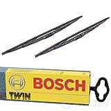 Bosch 530 Balais d'essuie-glace conventionnels Twin - 1 paire de balais avant