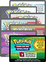 Pokemon - Online Booster Pack Code [1 Booster Pack] TCGO Code Cards