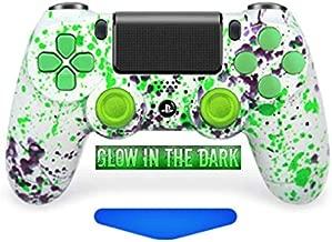 Alien Blood PS4 PRO Rapid Fire Custom Modded Controller 40 Mods (Glow in The Dark) (CUH-ZCT2U) …