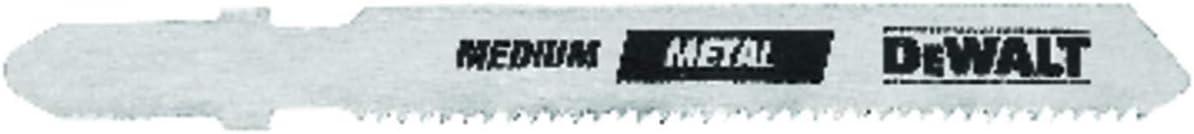 Max 68% OFF Selling DEWALT DW3778-5 3-Inch 32 TPI Sheet Metal Cut Steel T-Sha Cobalt