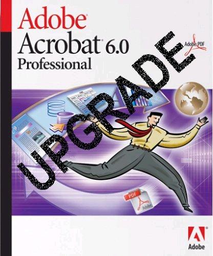 Acrobat 6.0 Professional Update von Version 4 und 5 englisch
