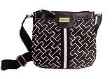 Tommy Hilfiger Womens Small Crossbody Handbag 6912762, Black