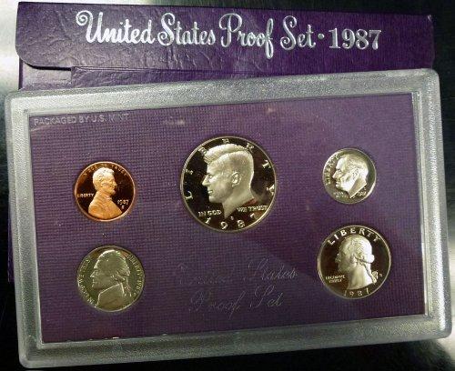 1987 U.S. Mint Proof Set Original Mint Pkg