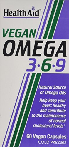HealthAid Vegan Omega 3-6-9 60 Capsules )