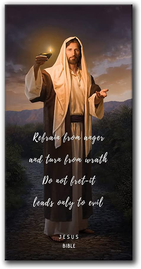 Jesus Poster Classic Deluxe Bible Quotes Art Christi Wall Max 67% OFF Prints Canvas