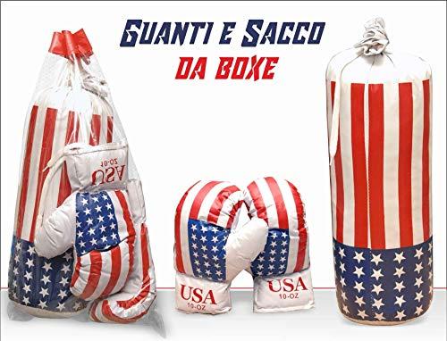 INV Sacco da Pugilato Boxe con Guantoni per Bambini