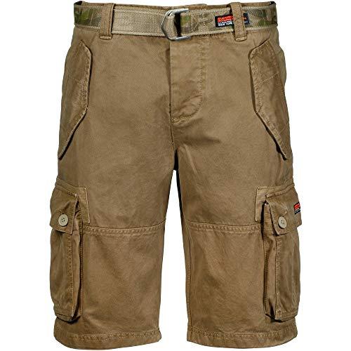 Superdry CORE Cargo Heavy Short Shorts Herren Camel - DE 38 (US 28) - Shorts/Bermudas