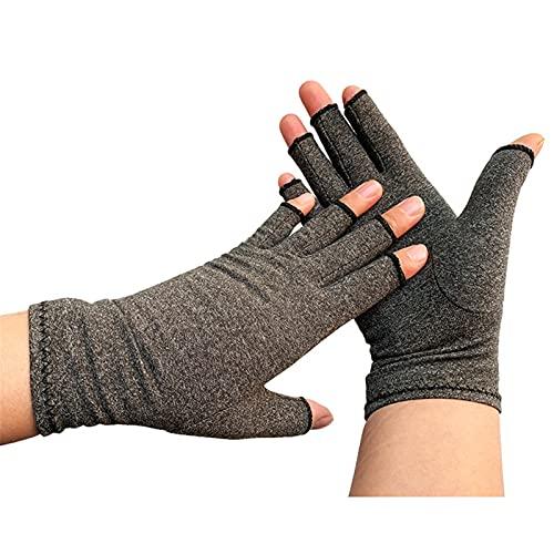 Rehabilitation Arthritis Gloves Men Women Rheumatoid Compression Hand Glove For Osteoarthritis Arthritic Joint Pain Relief SDFA88 Relief The Pain Pression Gloves (Color : L)