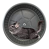 Exotic Nutrition 15' Chin-Sprint : All-Metal Durable, Silent, Fast Exercise Wheel - for Chinchillas, Prairie Dogs, Rats, Degus, Hedgehogs, Opossums & Other Small Pets