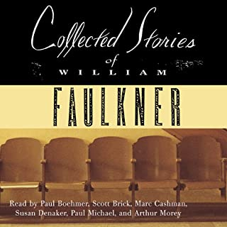 Collected Stories of William Faulkner                   By:                                                                                                                                 William Faulkner                               Narrated by:                                                                                                                                 Paul Boehmer,                                                                                        Susan Denaker,                                                                                        Scott Brick,                   and others                 Length: 31 hrs and 13 mins     213 ratings     Overall 4.1